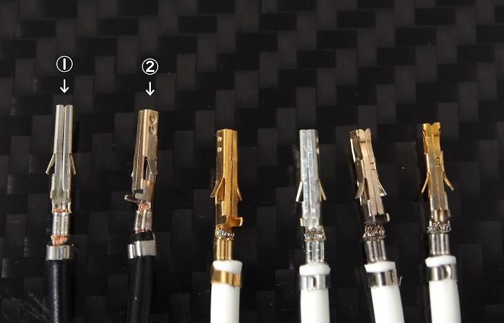 molex Mini-Fit Terminal圧着具合比較、その3