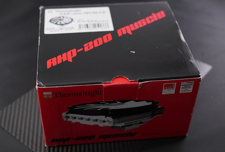 Thermalright AXP-200 Muscle開封、その1