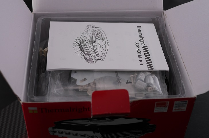Thermalright AXP-200 Muscle開封、その2
