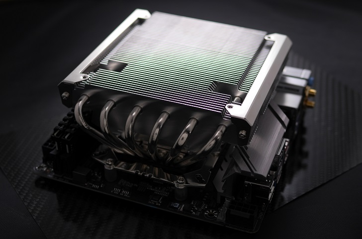 Thermalright AXP-200 MuscleをB450I AORUS PRO WIFIに取り付け、その2