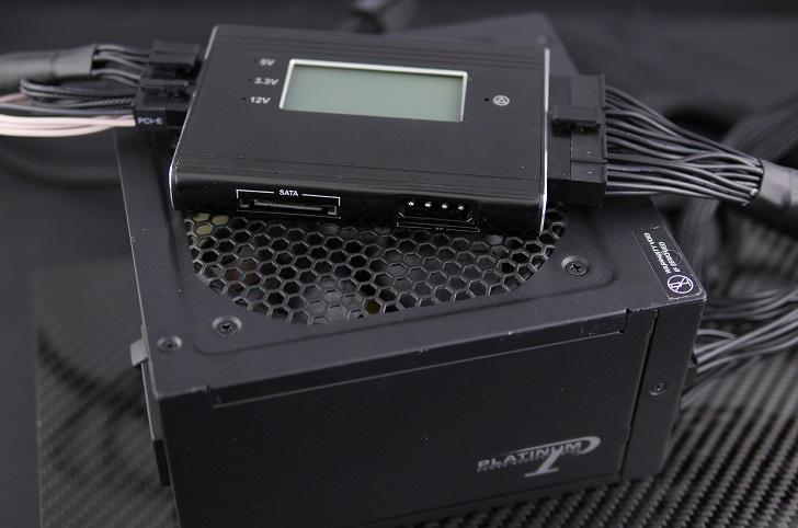 Seasonic SS-660XP2S電圧確認、その1