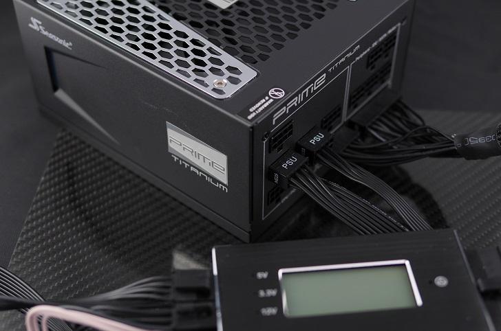 Seasonic PRIME SSR-750TD電圧確認、その1