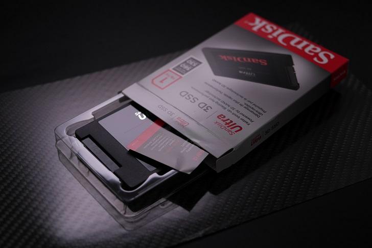 SanDisk Ultra 3D 1TB開封、その3