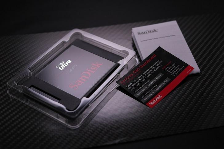 SanDisk Ultra 3D 1TB開封、その4