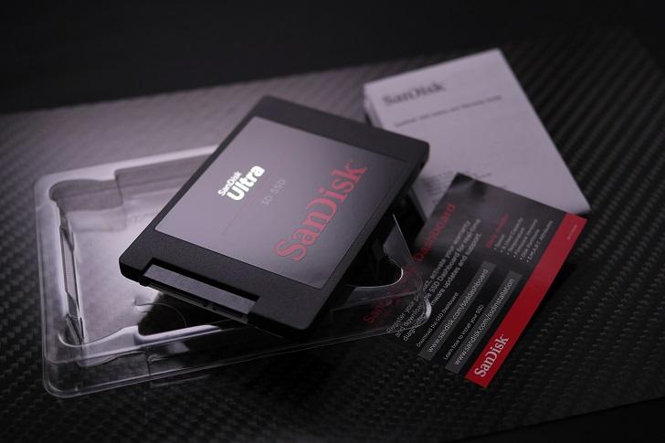 SanDisk Ultra 3D 1TB開封、その5