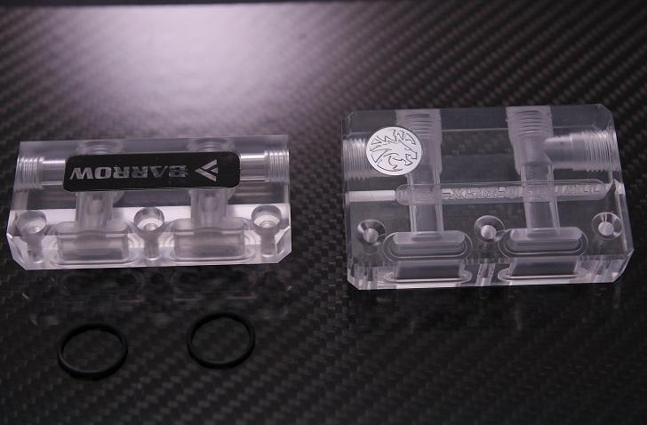 Barrow BSDQT-PAとbykski VGA-XS18-QSUALLの比較、その1
