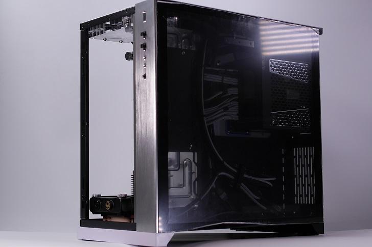 水冷パソコン、電源ケーブル(スリーブケーブル)、その1
