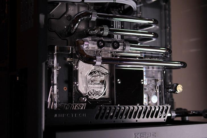 水冷パソコン、水路、配管、その1