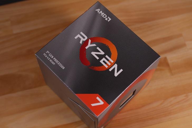 AMD Ryzen 7 3700X開封、その1