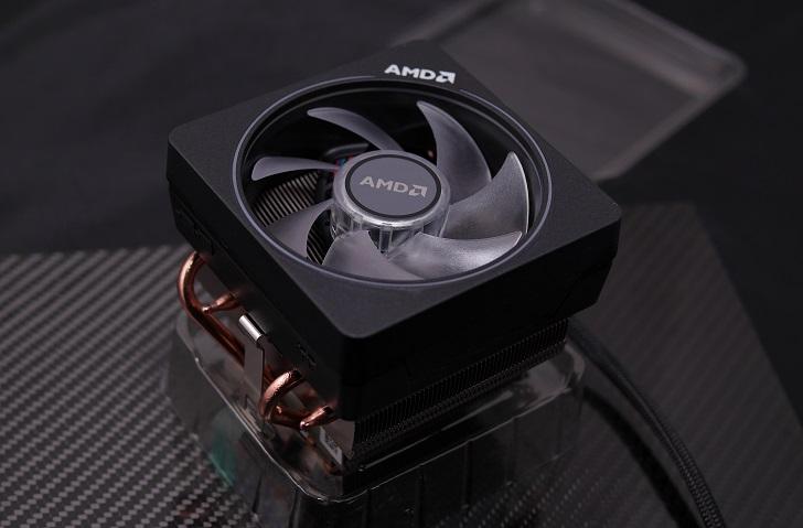 AMD Ryzen 7 3700X付属CPUクーラー、その2