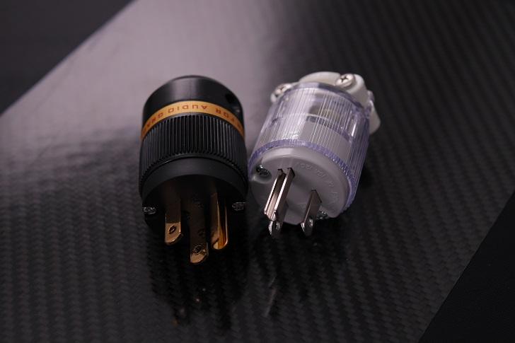 ヴィボー オーディオ純銅 24K金メッキ電源プラグ+Panasonic WF5018K
