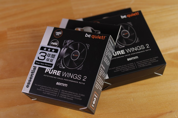 be quiet!PURE WINGS 2 80mm