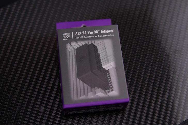 Cooler Master ATX 24PIN 90度 Adapter 90度変換アダプタ CB1736 CMA-CEMB01XXBK1-GL