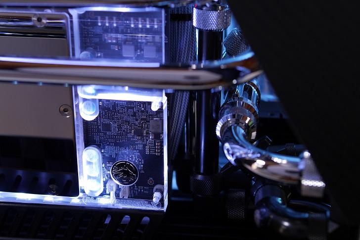 水冷パソコンの配管、その1